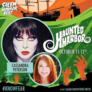Elvira at Salem Horror Fest