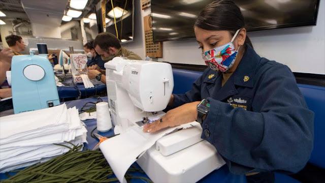 EEUU, en escasez por coronavirus, entrega mascarillas a Israel