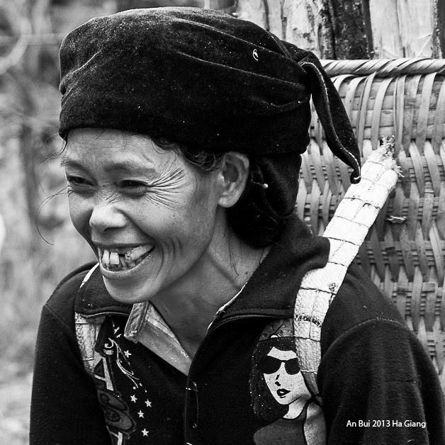 Mountainous smile