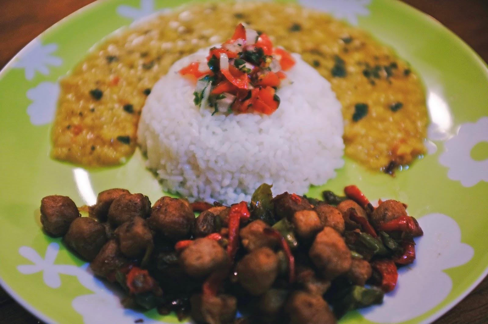 Recette Vegetarienne Lentilles Corail Et Soja Chunks