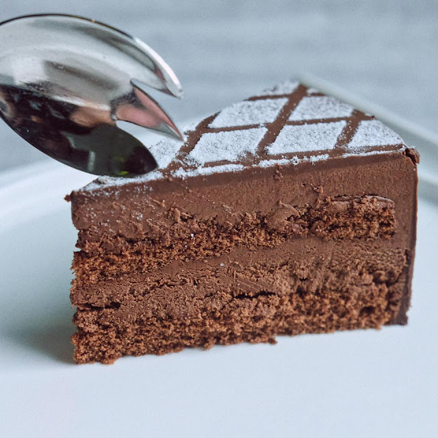 Chocolate Seduction Truffle Cake