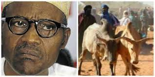 Buhari with Herdsmen