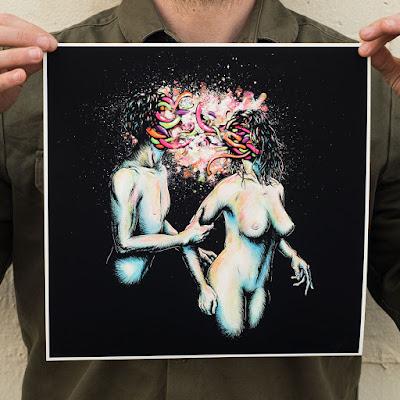 Free Radicals Giclée print