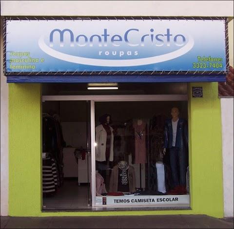 Fachada da loja MonteCristo Roupas em Assis
