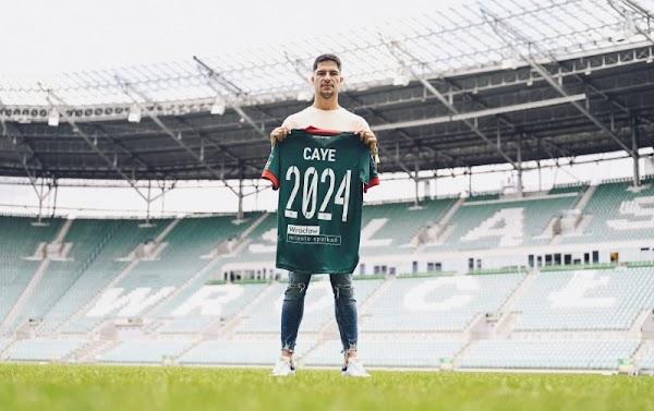 Oficial: Slask Wroclaw, firma Caye Quintana