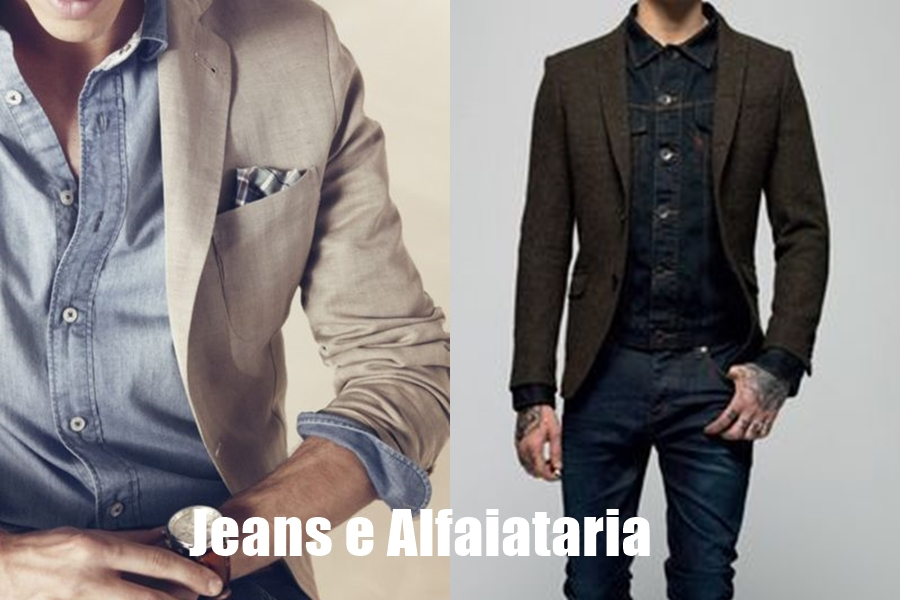 jeans com jeans na moda