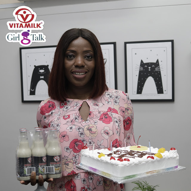 "Photos: Ghanaian Movie Producer Shirley Frimpong-Manson Receives Big Surprise On Her Birthday From Vitamilk ""Girl Talk"" Team"