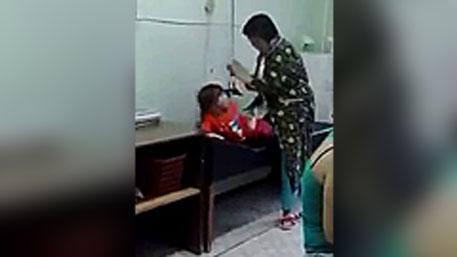 В Приморье медсестра избила ребенка, чтобы сделать ему укол!