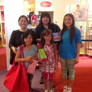 American Girl Doll Store - Mission Accomplished
