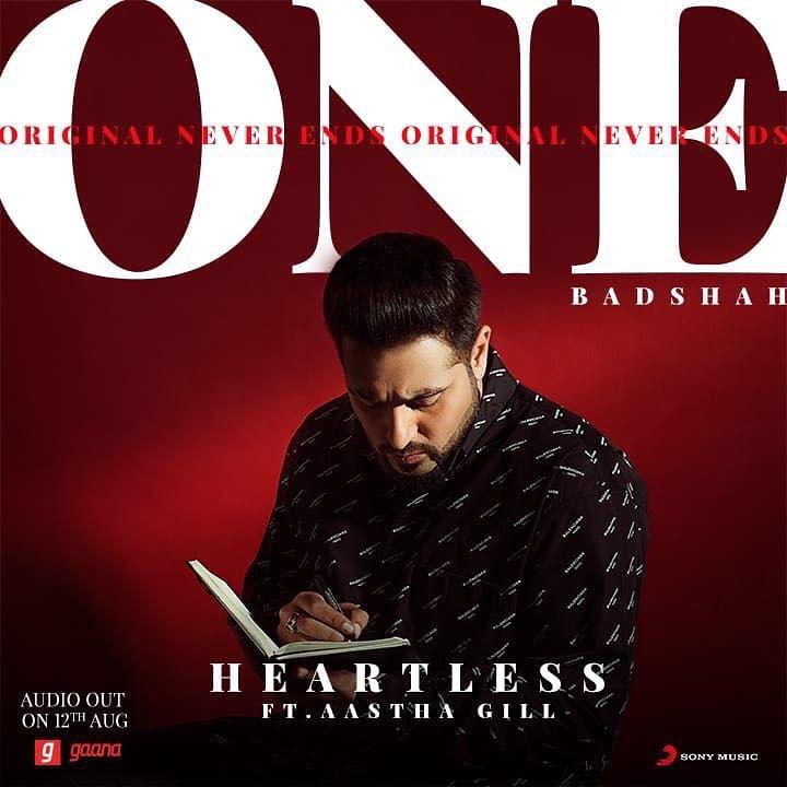 Heartless Lyrics - Badshah Feat Aastha Gill | ONE | Original Never Ends
