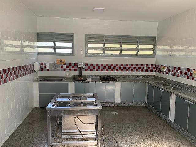 Centro de Ensino Infantil da Candangolândia reinaugura cozinha totalmente reformada