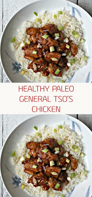 HEALTHY PALEO GENERAL TSO'S CHICKEN