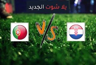 نتيجة مباراة كرواتيا والبرتغال اليوم الثلاثاء بتاريخ 17-11-2020 دوري الأمم الأوروبية