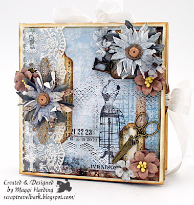 Folio style card  tutorial for Frillie and Funkie Blog
