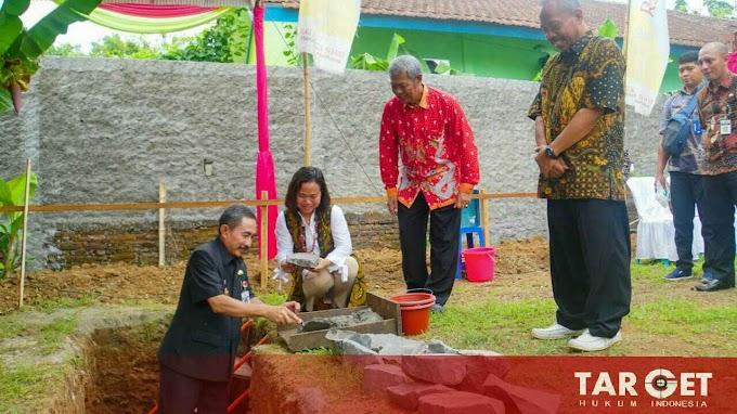 Bupati Haryanto Hadiri Peletakan Batu Pertama GITJ Margorejo