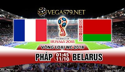 Nhận định, soi kèo nhà cái Pháp vs Belarus