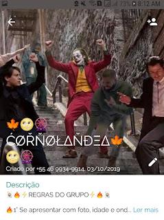 Cornolandia - Links de Grupos de WhatsApp