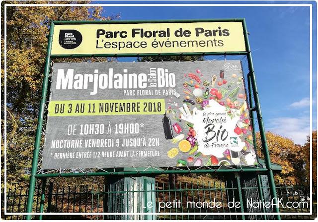 Salon Marjolaine bio au Parc floral de Vincennes