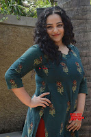 Nithya Menon promotes her latest movie in Green Tight Dress ~  Exclusive Galleries 035.jpg