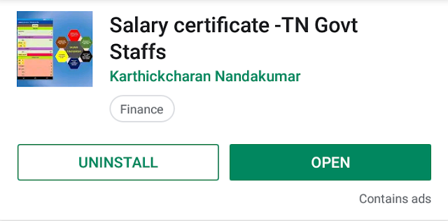 SALARY CERTIFICATE IN FEW SECONDS | ANDROID APP FOR GOVT STAFF