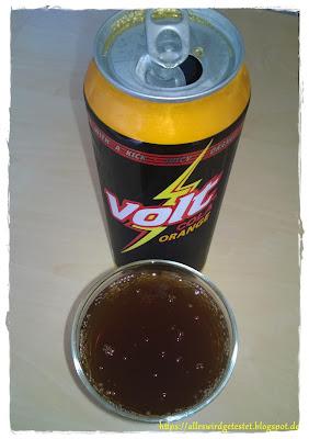 Volt Cola mit Orange