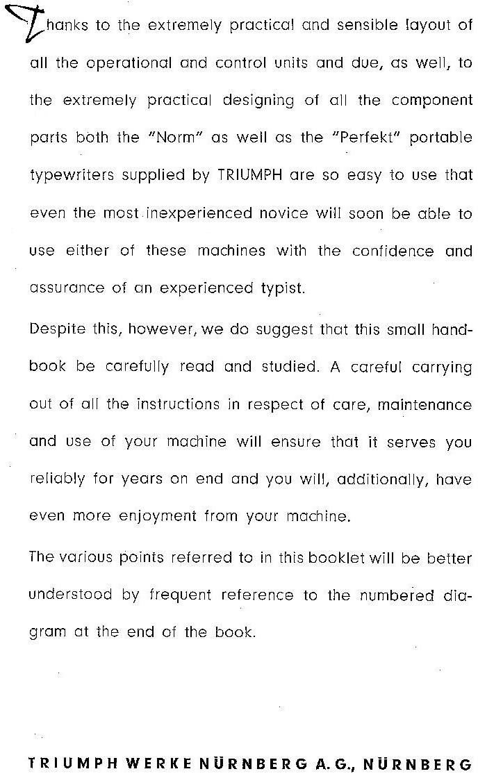 oz.Typewriter: Triumph Portable Typewriters