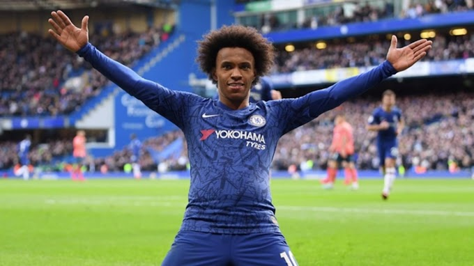 Chelsea And Willian has made a breakthrough in New contract talks