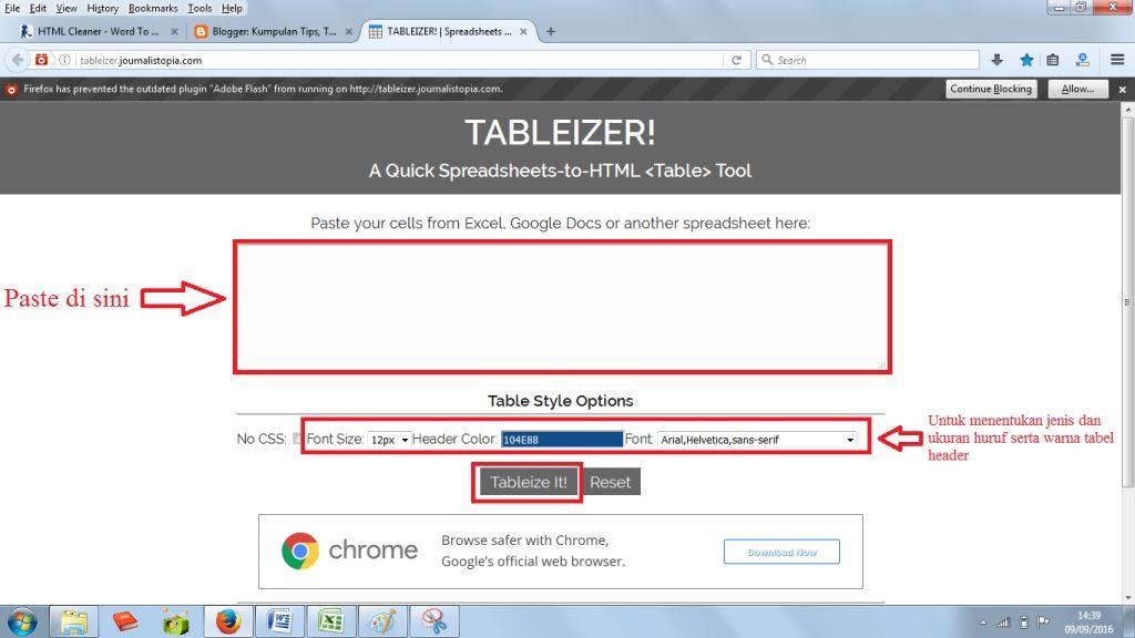 Cara Membuat Tabel di Blog dengan Mudah dan Cepat