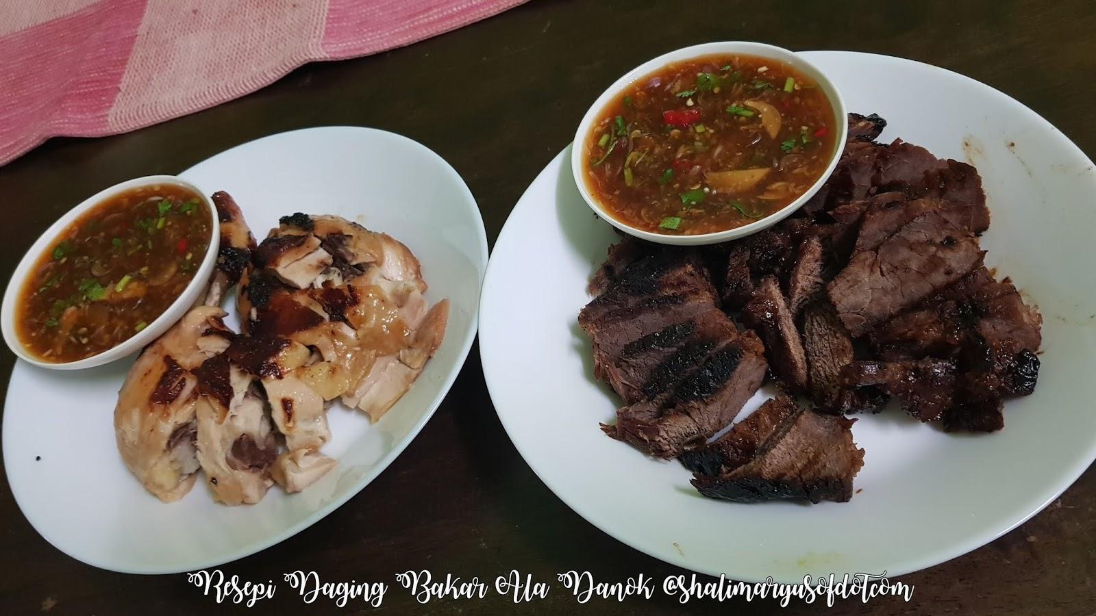 daging bakar ala thai