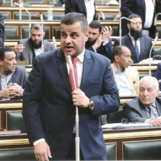 النائب عاصم مرشد يطالب الحكومة اعادة النظر فى تحديد اسعار مخالفات البناء في مركز كوم حمادة