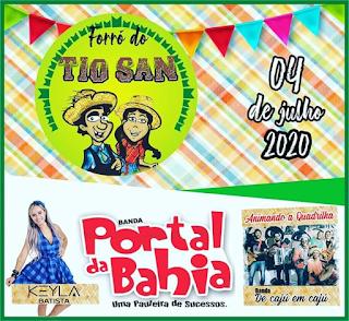 No São Pedro de Itiruçu 2020, tem Forró do Tio San
