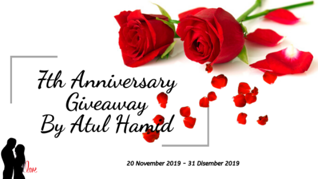 7th Anniversary Giveaway By Atul Hamid.
