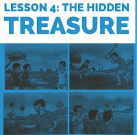 The Hidden Treasure    Class 4   Lesson 4   questions   answers   SCERT   ASSAM