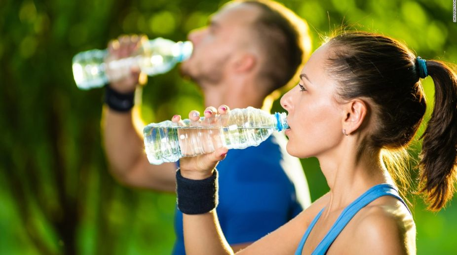 Drink enough water after exercise