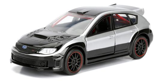 coleccion rapido y furioso, coleccion rapido y furioso jada tyos, coleccion rapido y furioso 1/32, Brian's Subaru WRX Hatchback