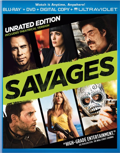 Savages 720p HD Español Latino Dual BRRip 2012