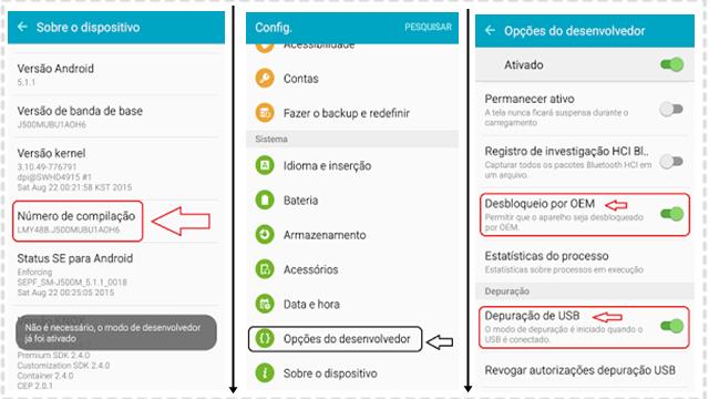 Como Fazer Root no Galaxy J5 (SM-J500M/H/F/G) (Android 6.0.1)