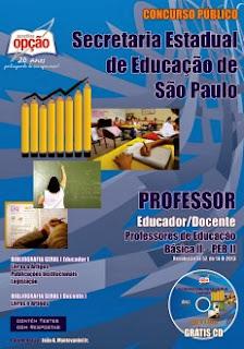 Apostila SEE SP / Professores de Educação Básica - II
