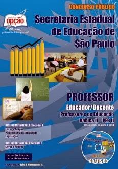 Apostila SEE São Paulo / Professores de Educação Básica - II
