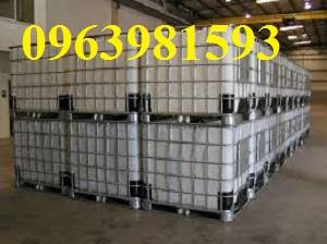 Chuyên thùng chứa hóa chất, bồn nhựa 1000 lít, bồn IBC giá rẻ