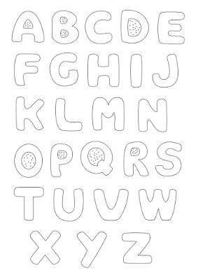 Cutwork letters - Lettere ad intaglio