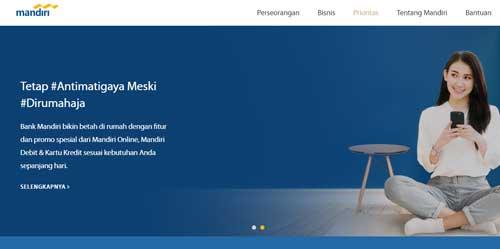 cara kontak secara online bank mandiri untuk petanyaan dan laporan keluhan 24 jam