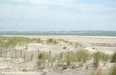 The Beach in Wildwood New Jersey