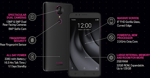 T-Mobile REVVL Plus Android Phone for $200 from November 17