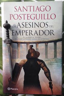 Portada del libro Los asesinos del emperador, de Santiago Posteguillo