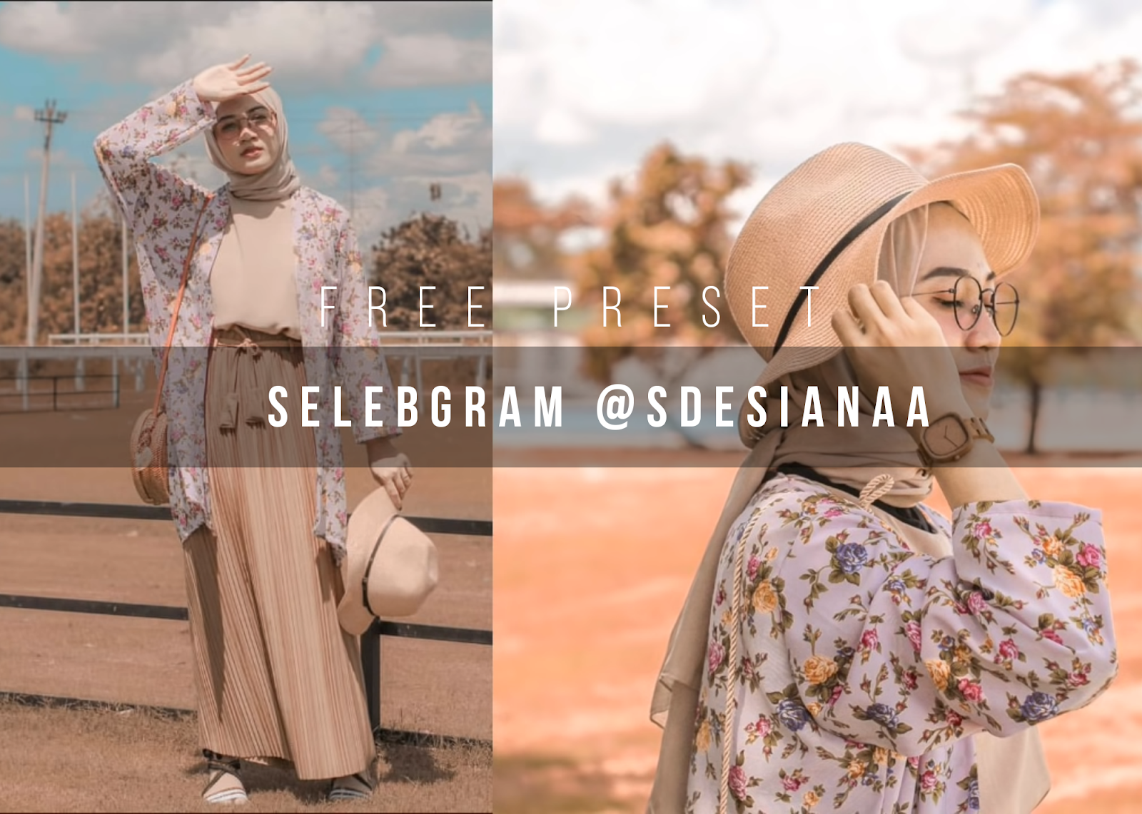 Download Gratis Preset Selebgram @Sdesianaa Lightroom Mobile