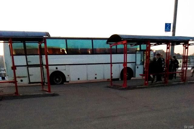 Автобус Луганск