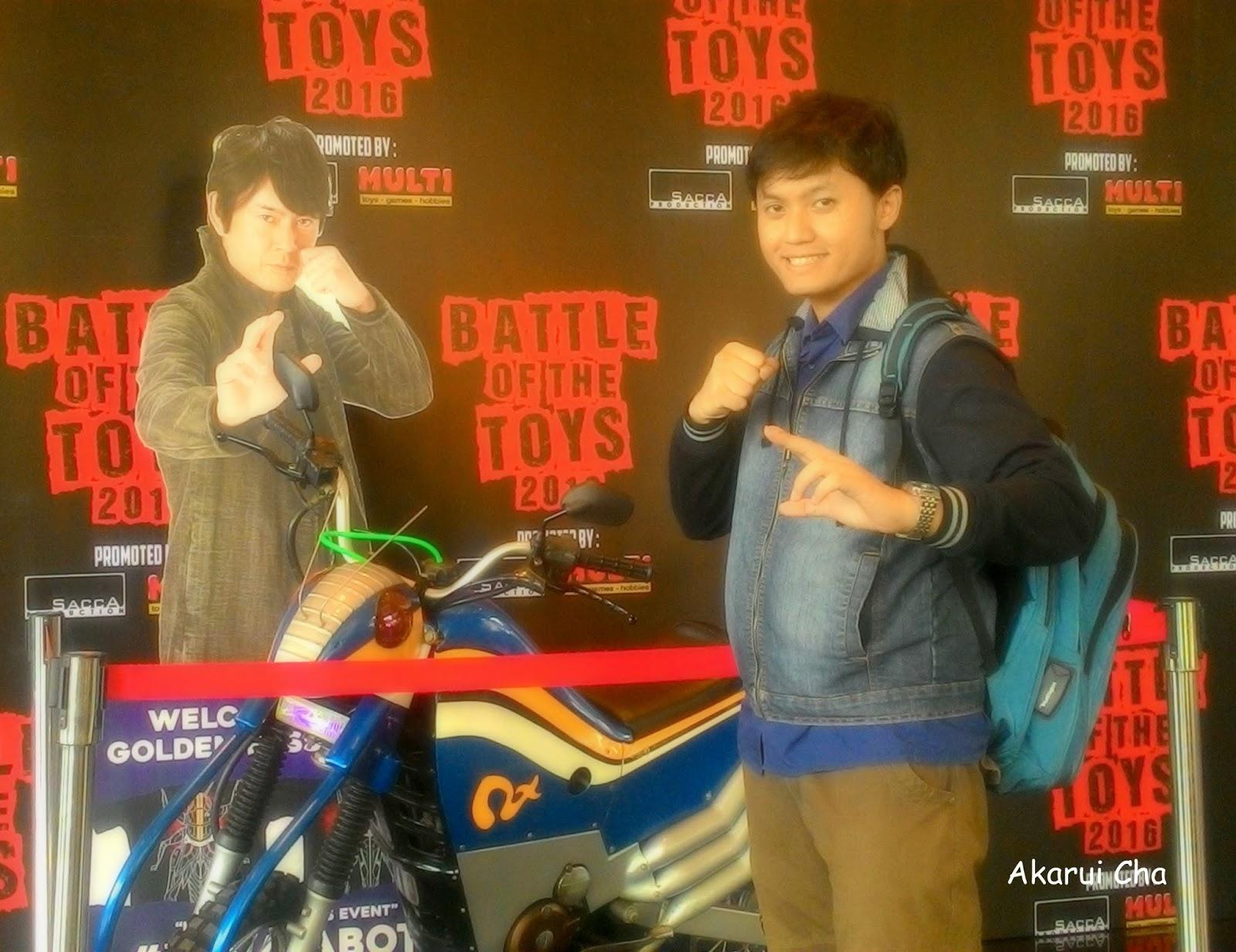Taman Rahasia Cha: Battle of The Toys 2016 : Say Hello to