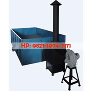 Mesin Box Dryer - Mesin Pengering Kemiri Kapasitas 750 Kg/Proses Tanpa Pengaduk