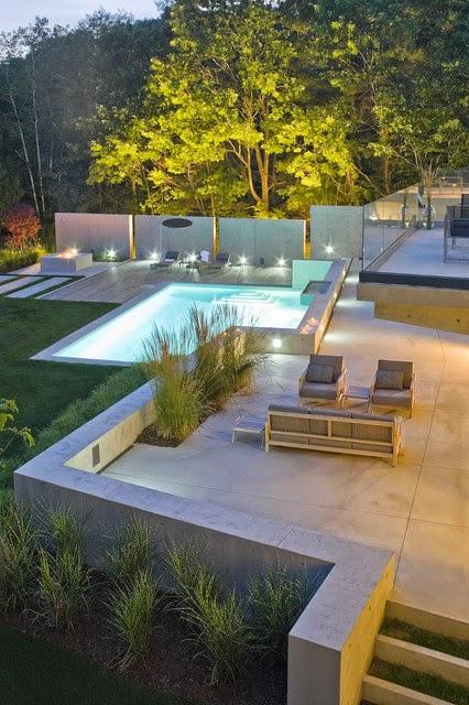 Hogares frescos 18 dise os de peque as pero hermosas piscinas for Piscinas desmontables pequenas con depuradora